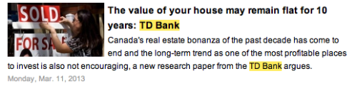 td bank flat