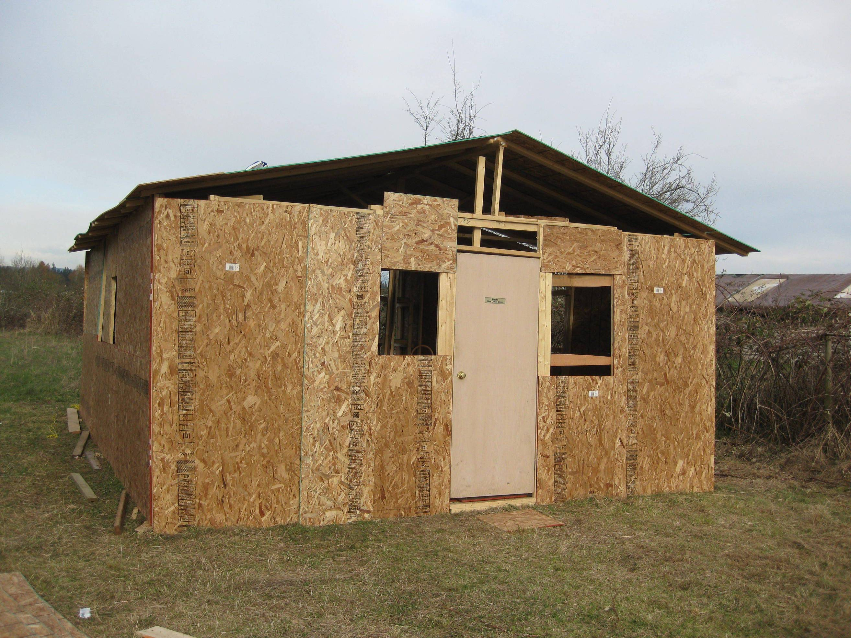 Как построить сарай в деревне