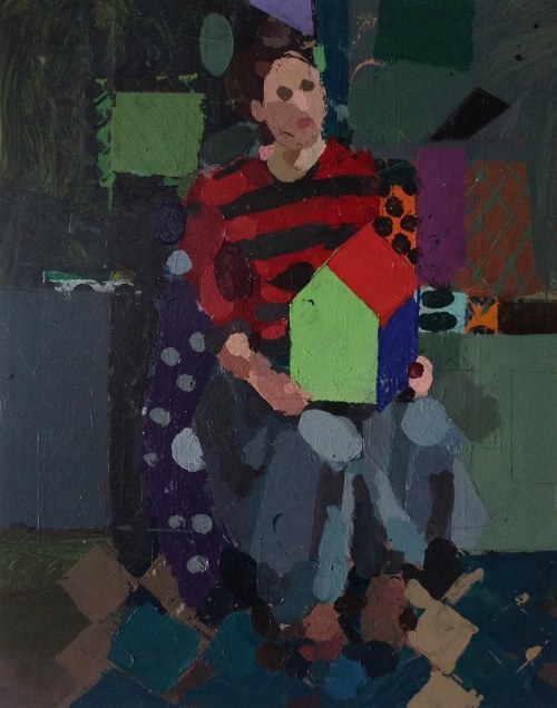 ken kewley - model with house