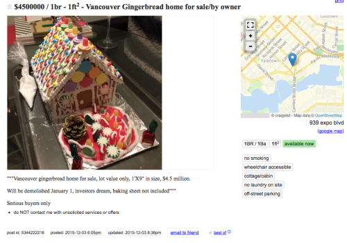 craigslist gingerbread